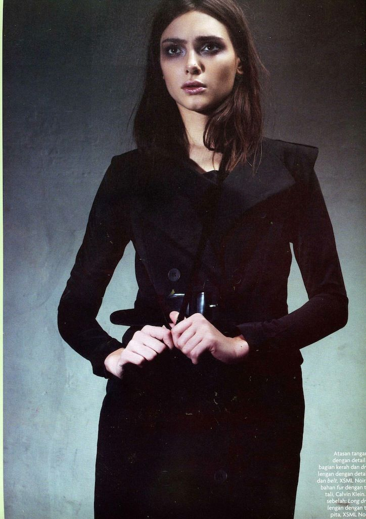 NOIR (X)S.M.L Top is appeared on Amica Indonesia - April 2013