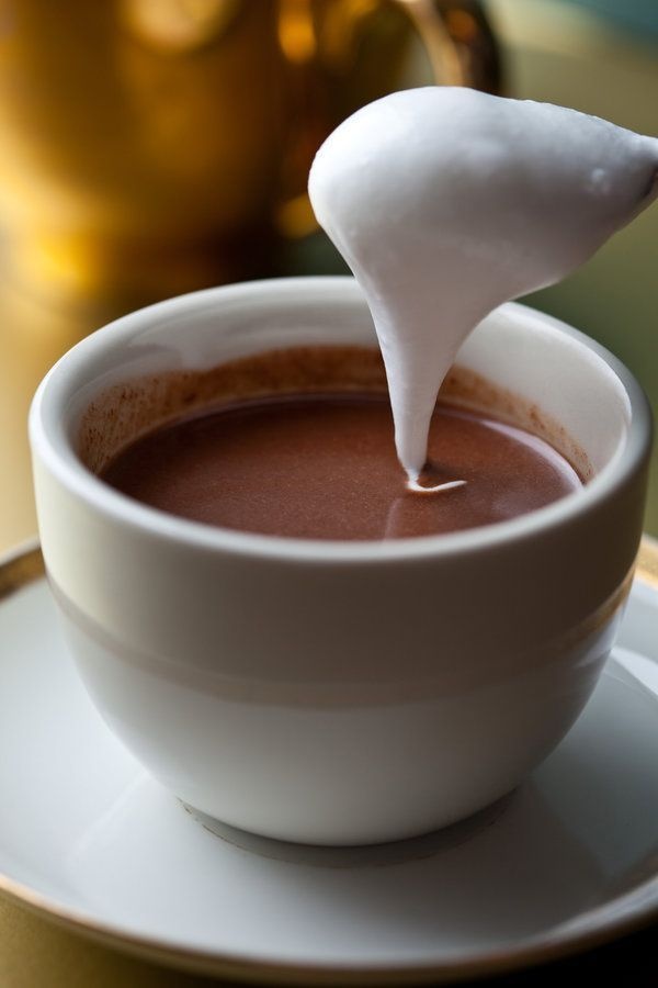 Coconut Hot Chocolate - The New York Times | via basilgenovese