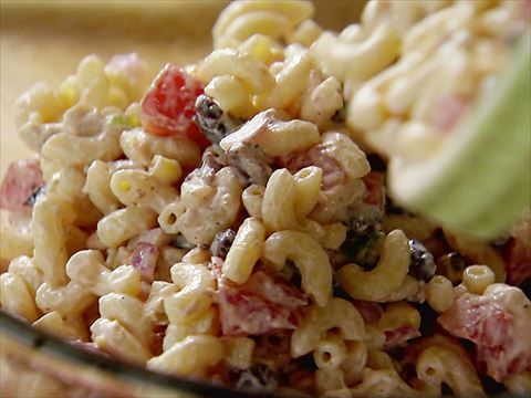 Mexican Macaroni Salad recipe from Ree Drummond via Food Network