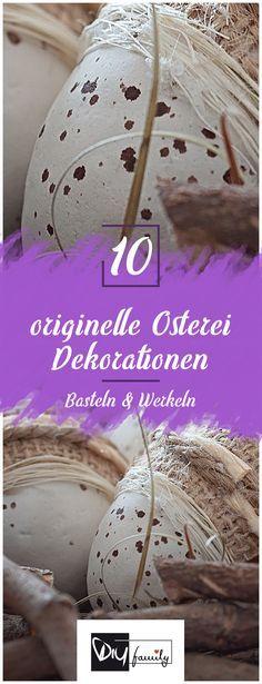 Ostereier Dekorieren U2013 10 Originelle Ideen