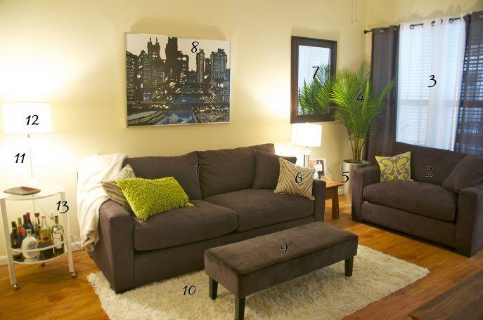Living Room 95 Inviting Green And Chocolate Living Room Pictures Design Green And Chocolate Livingm Salones De Diseno Decoracion De Interiores Disenos De Unas