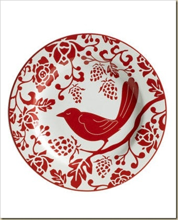 I have this plate! So cute! I display plates in my kitchen above the cabinets