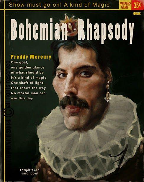 Paperback - Freddy Mercury