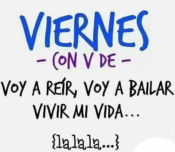 La la la :)  - Vivir Mi Vida. ✭Teresa Restegui http://www.pinterest.com/teretegui/ ✭