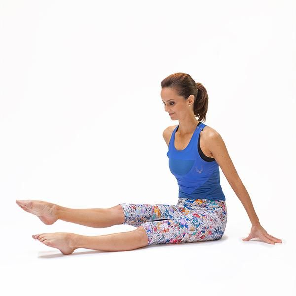 160 best essentrics images on pinterest stretching for Floor quad stretch