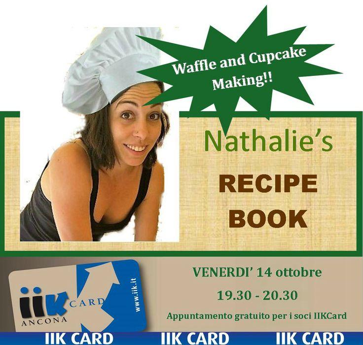 Ciao! Ti aspettiamo domani,dalle 19.30 alle 20.30, per il consueto appuntamento di conversazione in lingua inglese del venerdì.   Domani è la volta del Workshop di cucina. La nostra docente Nathalie ti condurrà nel mondo dei Waffle e dei cupcake.    Non perdere l'occasione per migliorare il tuo inglese in un contesto divertente, pratico e goloso, ti aspettiamo!!    Ricordiamo che l'appuntamento è gratuito per i Soci IIKCard.