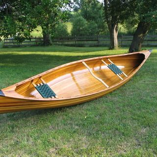 Cedar Strip Canoe. Would love to build one of these. May have to wait until the kids are out of the house.