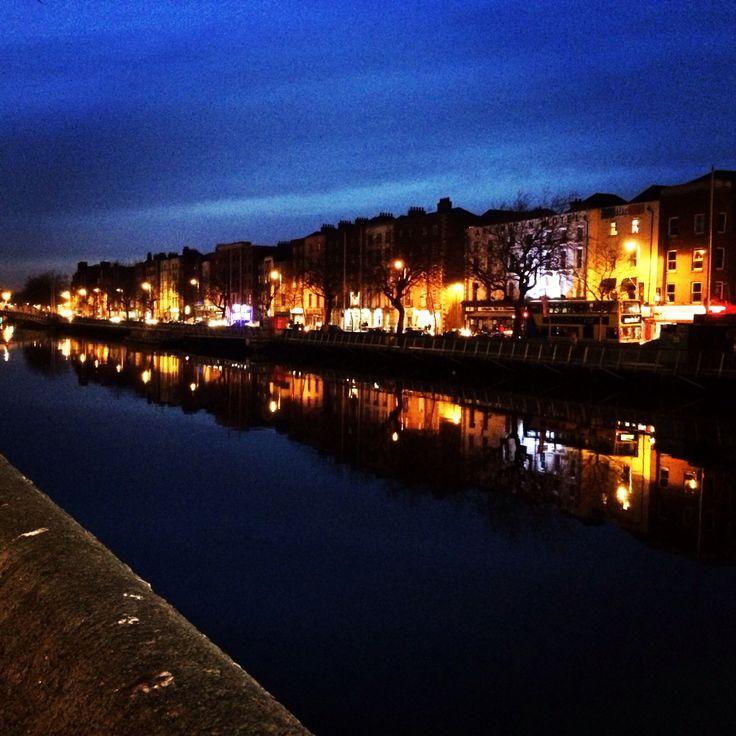 Dublin de noche !