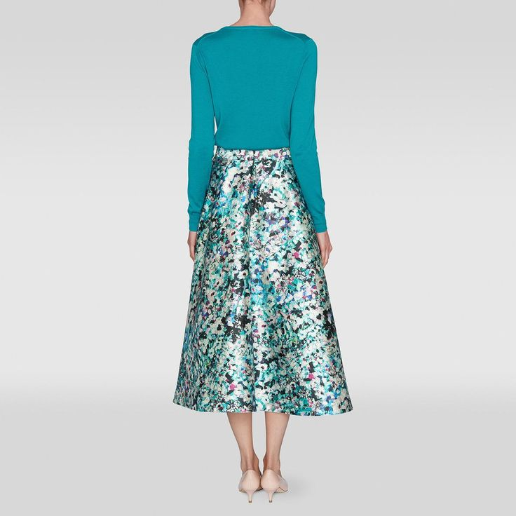 My latest weekly lust at LadyM Presents - the LK Bennett Susan Floral Print Full Skirt - such a beautiful colourway and style www.ladympresents.co.uk