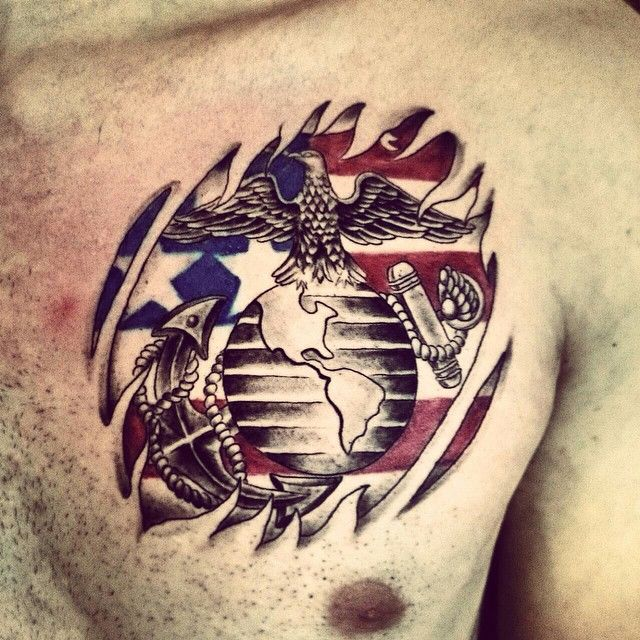 TattoosKid 21 Marine Corps Tattoo Designs Ideas Design Trends Tattoo