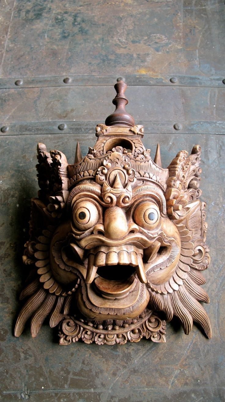Java Balinese Mask - Google Search