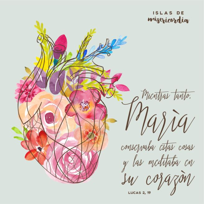 Islas de Misericordia by Sarai Llamas (Lucas 2, 19)