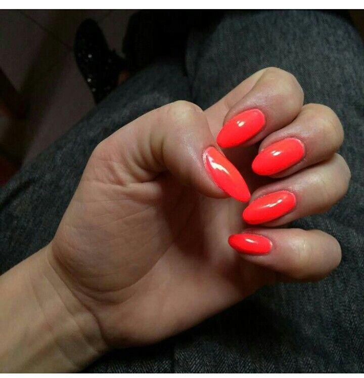 Color fluo, nailpolish . My Nails .