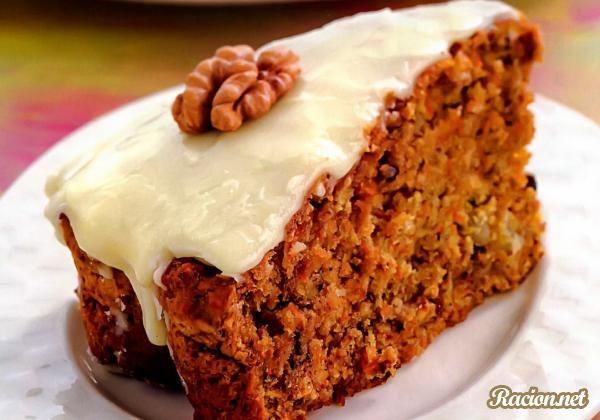 Рецепт Морковный пирог. Приготовление   блюда