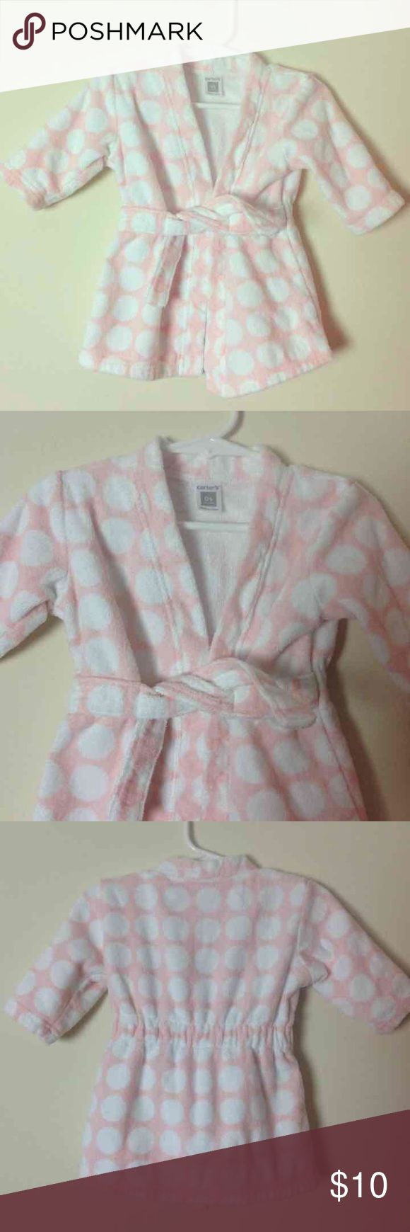 NWOT Adorable Carters Baby Girl Robe- One Size NWOT Adorable Carters Baby Girl Robe- One Size Carter's Pajamas Robes