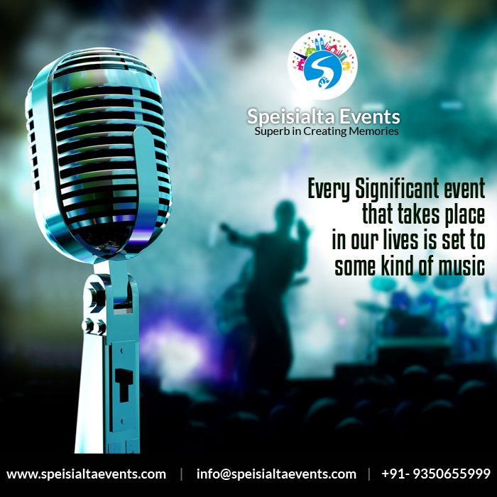 """Every significant event that take place in our lives is set to some kind of music"" #speisialtaevents # events #decor #decoration #weddingplanner #evenorganizer Visit Our Website: www.speisialtaevents.com For Booking Call:+91-9350655999, +91-9350455999"