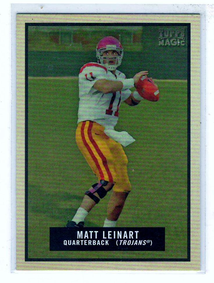 Sports Cards Football - 2009 Topps Magic Matt Leinart