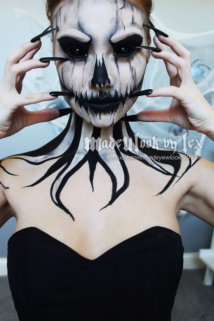 See 29 Mind-Blowing Halloween Makeup Transformations - So Cool