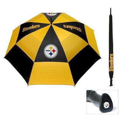 Steelers Black Umbrella, Golf Umbrella