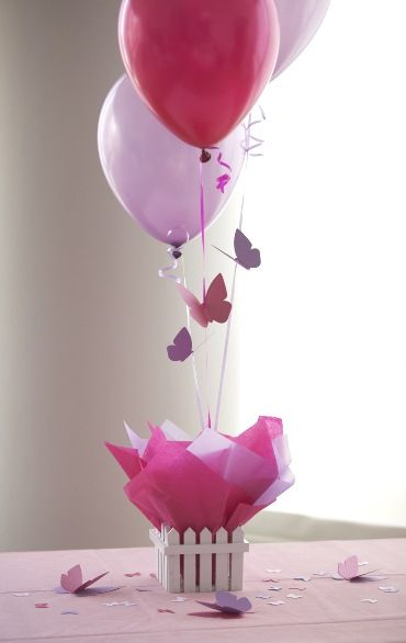 Butterfly Party Centerpieces,