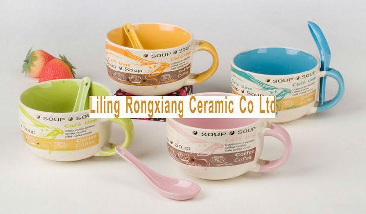 Jumbo Ceramic Soup Mugs With Handle Cheap Mugs Buy
