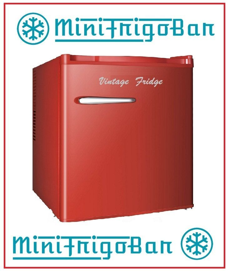 Mini Frigo Bar Frigorifero VINTAGE anni 50 Piccolo ROSSO minifrigo NO Coca Cola | eBay