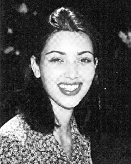 Young Kim Kardashian