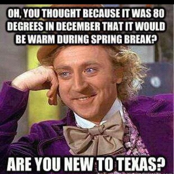 welcome to texas.