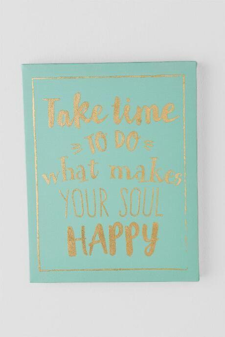 Gold and Mint Soul Happy Canvas Follow my posts: http://www.hsefashionandlifestyleblog.com/