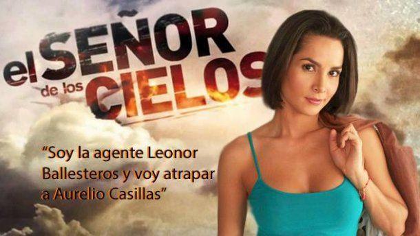 Carmen Villalobos, una valiente agente en El Señor de Los Cielos