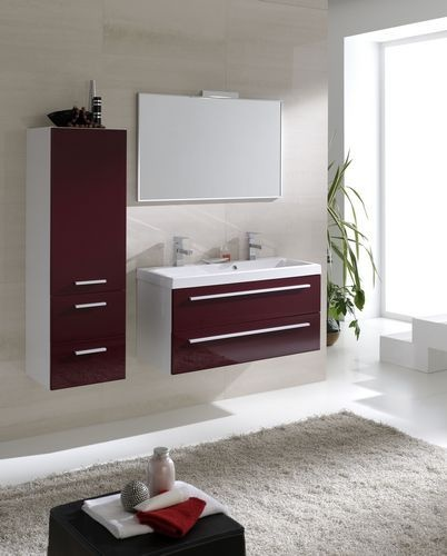Elita Kwadro #bathroom #furniture #cabinet #washbasin #lazienka #meble #szafka
