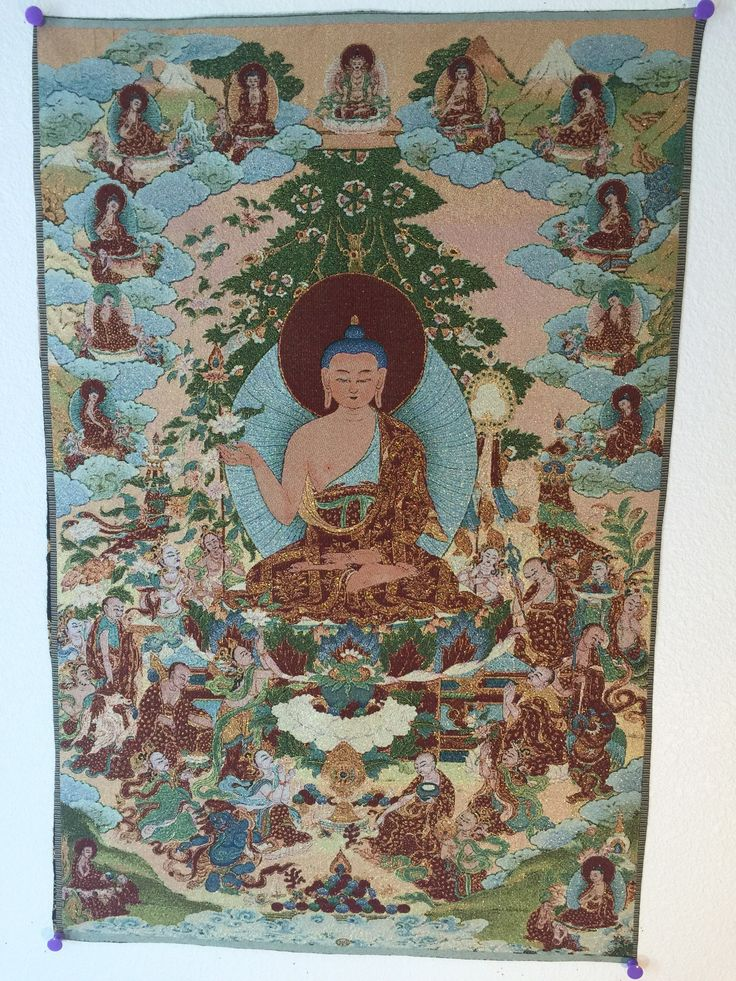 Shakyamuni Buddha: Set of Nine Compositions