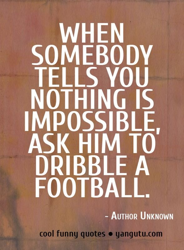 Good Humor Quotes: 17 Best Funny Football Quotes On Pinterest
