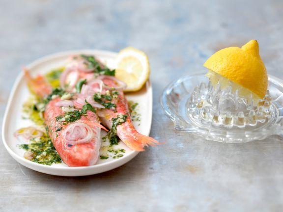 Marinade für gegrillten Fisch ist ein Rezept mit frischen Zutaten aus der Kategorie Marinaden. Probieren Sie dieses und weitere Rezepte von EAT SMARTER!