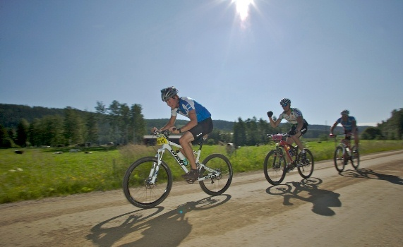 Mountain bike. There are lots of interesting routes in and around Kuopio.