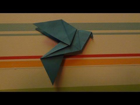 Origami Dove (HD) - YouTube