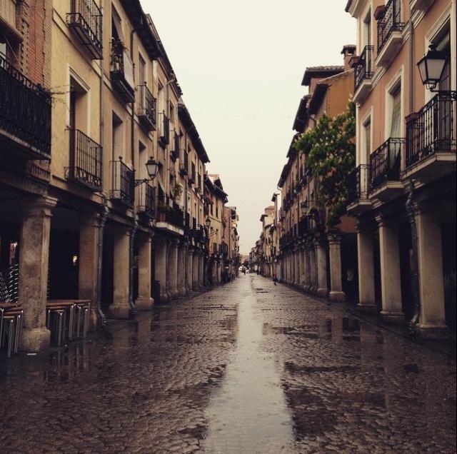 Calle Mayor (Alcalá de H). Madrid