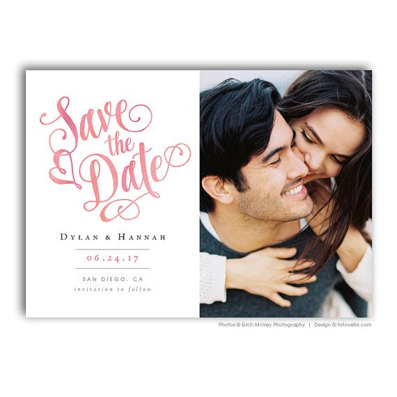 Best Save The Date Templates Images On   Save The
