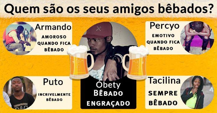 Quem são os seus amigos bêbados?