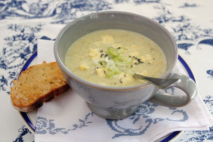 Broccoli and Cauliflower soup