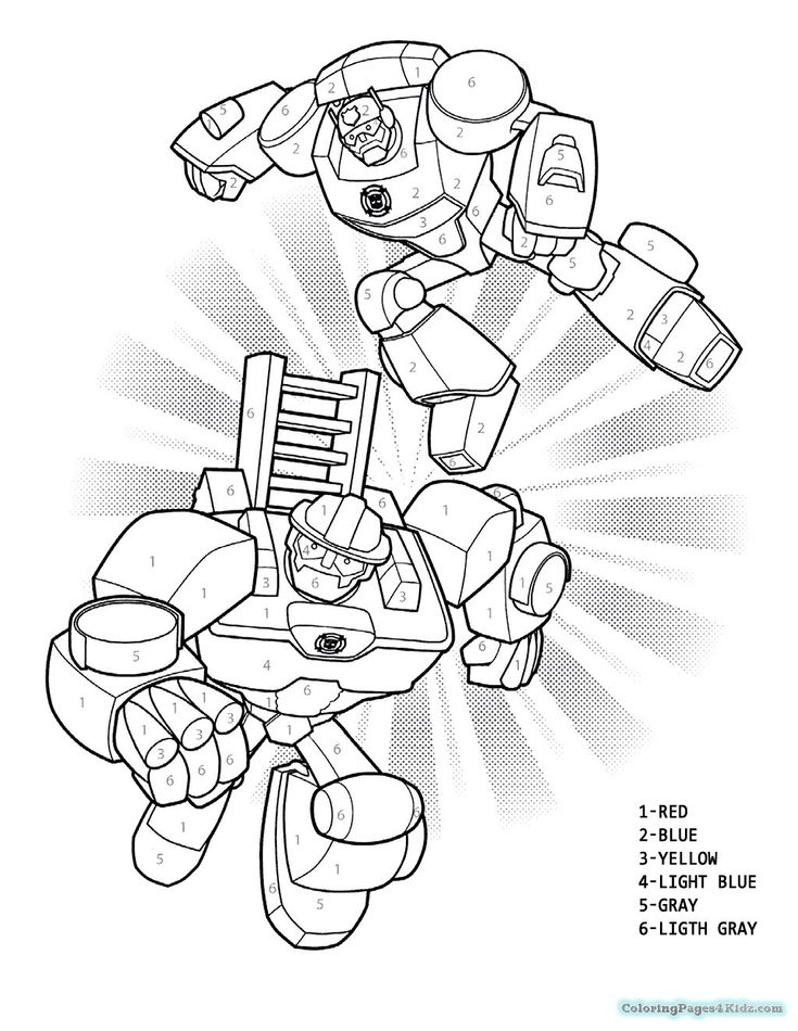 Rescue Bots Coloring Pages Rescue Bots Bumblebee Coloring
