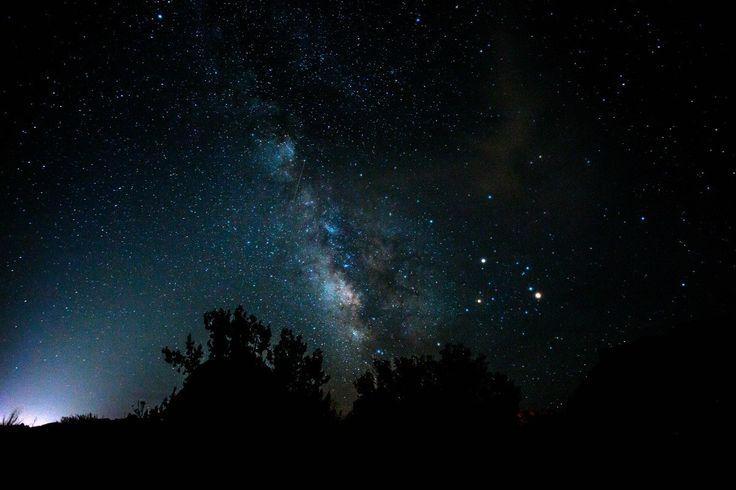 Stargazing in the Desert