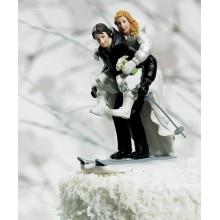 Figuras de Novios Esquiando-Vasara.es