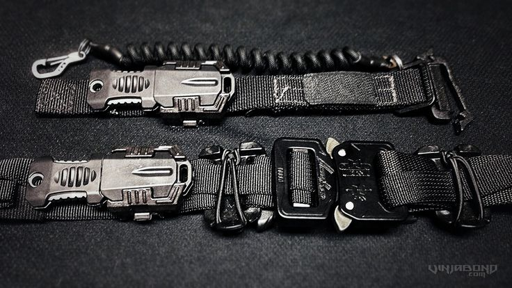 - Pocket Shiv Equipped on SERE Bracelet and Tactical Belt -