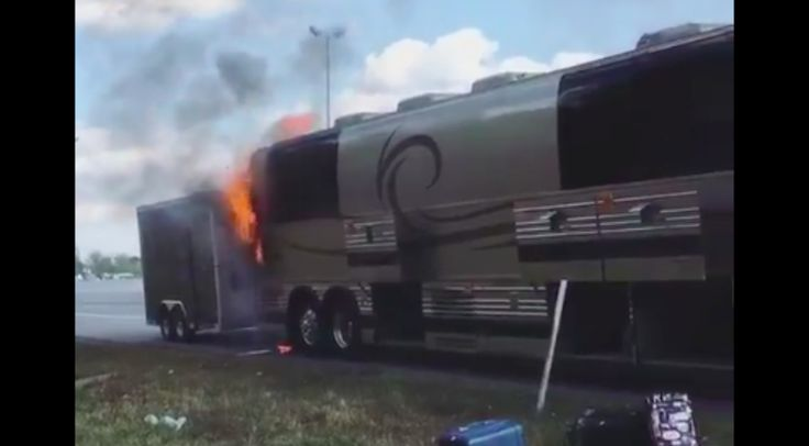 Country Music Lyrics - Quotes - Songs Chris lane - Country Star's Bus Bursts Into Flames On Interstate - Youtube Music Videos http://countryrebel.com/blogs/videos/country-stars-bus-bursts-into-flames