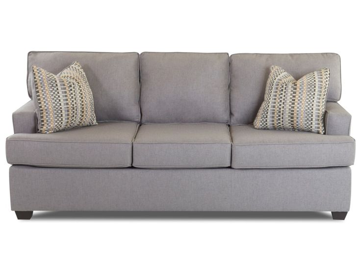 cruze sleeper sofa with track arms and queensized enso memory foam mattress