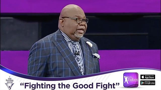"""Emotional development is a sign of maturity! WATCH """"Fighting the Good Fight"""" at tdjakes.org/watchnow or Download the TDJ Mobile App #FightTheGoodFight #tphonline"""