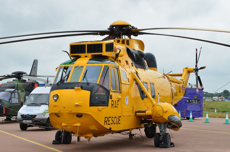 The Sea King air sea rescue Helicopter