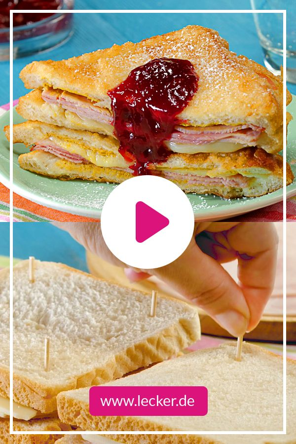 Monte Cristo Sandwich So Geht S Lecker Monte Cristo Sandwich Rezepte Lecker