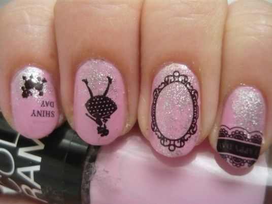 Nail Of The Day - Lovely in Pink